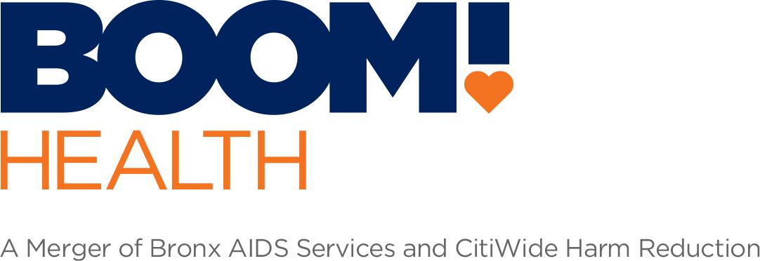 Boom Health logo.