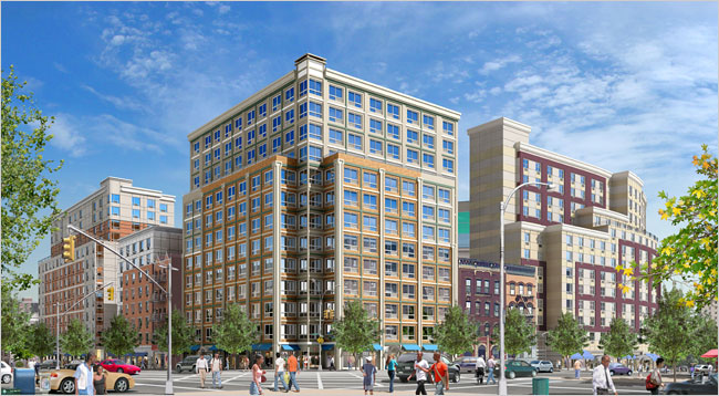 Boricua Village is being built by the Atlantic Development Group in the South Bronx.