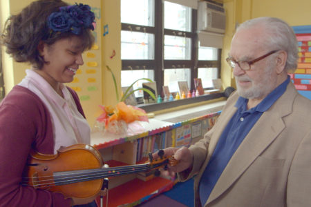 """Joe's Violin"" Documents Holocaust Survivor's Gift To South Bronx Schoolgirl"