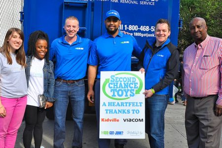 Second Chance Toys Delivers Happiness To Bronx Kids At Mount Hope