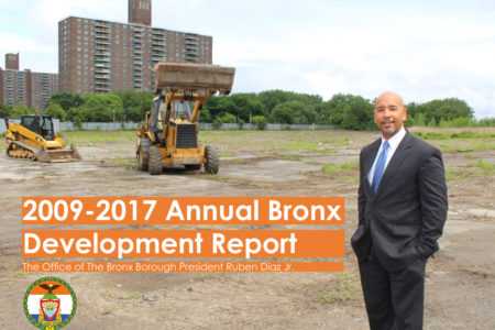 "BP Diaz Releases ""Bronx Annual Development Report"""
