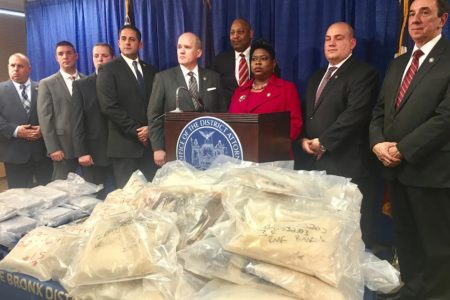 $22 Million In Heroin & Fentanyl Seized In Bronx Drug Bust