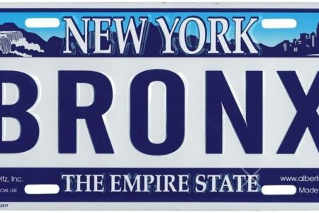 Buy Your Bronx, NY License Plate