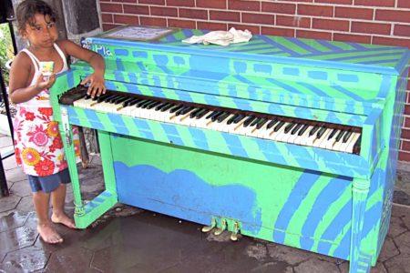 Bronx Pianos Vandalized