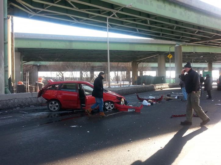 Couple Survives Dramatic Car Plunge