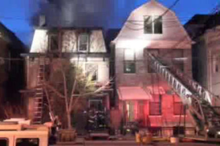 Firefighters Battle 3-Alarm Fire In Bronx