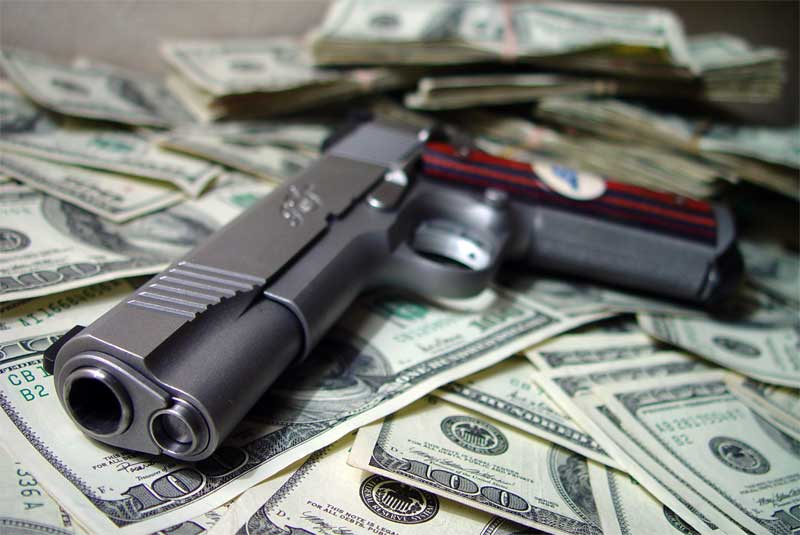 Cash for guns may pay for more guns.