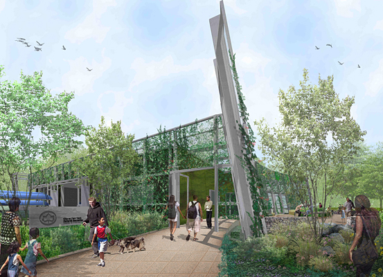 Breaking Ground On Bronx River House