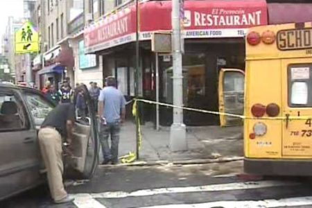 School Bus Accident In Bronx