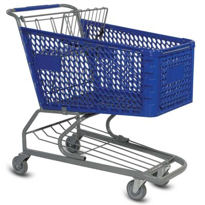 Shopping Cart Thrown On Two In Bronx