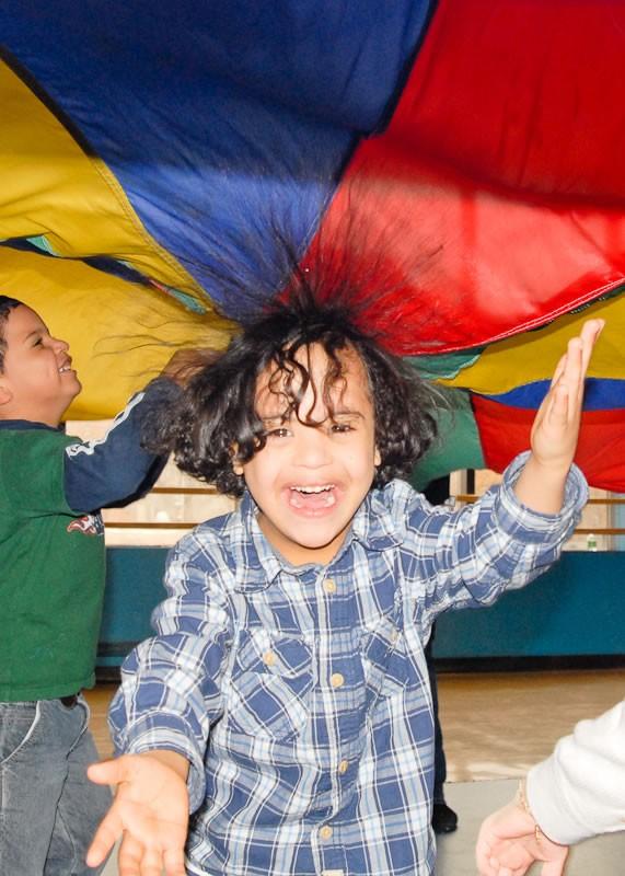Bronx Pre-Schoolers Special Olympics