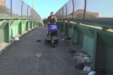 Bronx Woman Calls On City To Close Neglected Bruckner Overpass