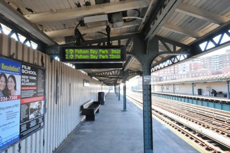 Bronx Subway Countdown Clock Rollout Continues