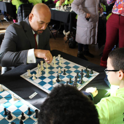 BP Diaz Co-Hosts Youth Chess Challenge With AT&T And Chess In The Schools