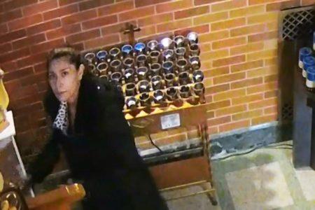 Woman Caught On Video Robbing Donation Box In Bronx Church