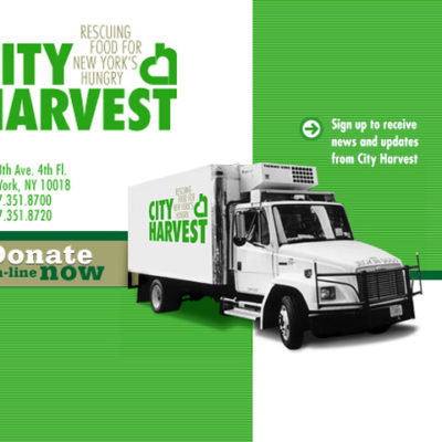 21,000 Lb Food Donation To City Harvest