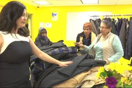 Bronx River Coat Drive Helps Needy Residents