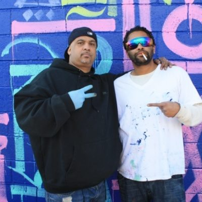 COPE2 & RETNA Collaborate On Bronx Mural