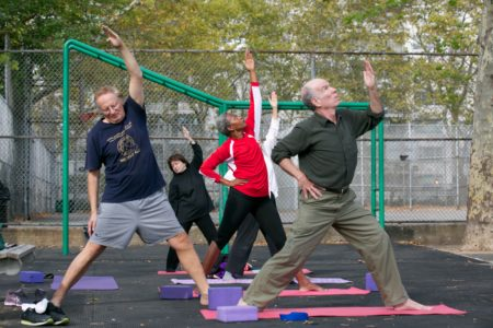 City Parks Foundation Kicks-Off Free Fall Sports Programs For NYC Youth In Addition To Seniors Fitness Programs
