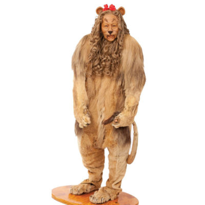'Wizard Of Oz' Cowardly Lion Costume Fetches $3M At Auction