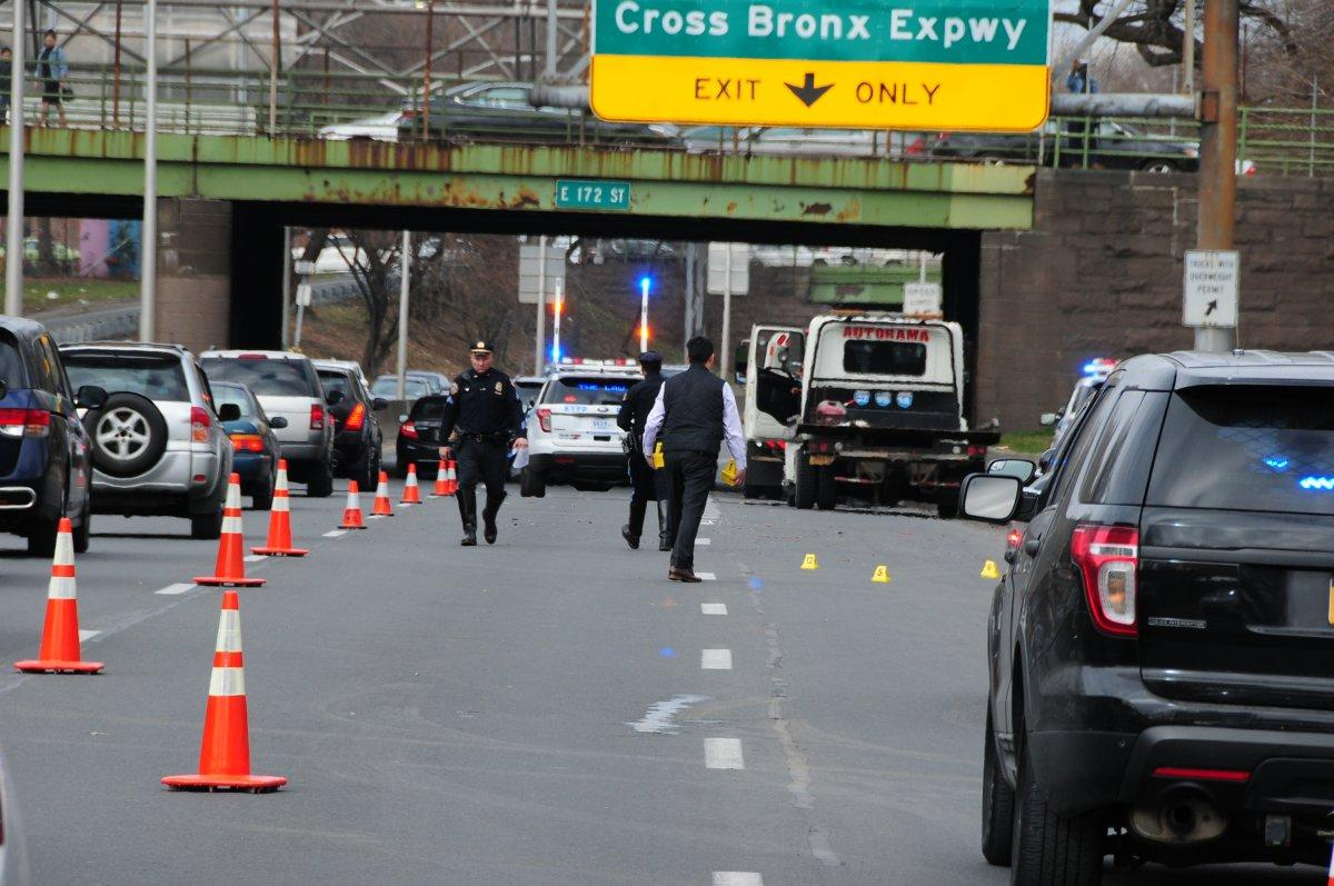 Grisly Crash On Bronx Highway