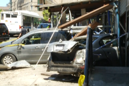 Woman Injured After Crashing Car Into Bronx Hair Salon