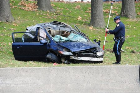Grisly Crash On Bronx Highway