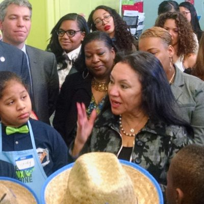 Gala Ribbon Cutting on NYC's First-Ever Elementary-Workforce Development School