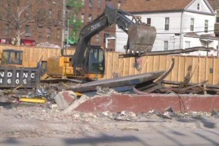 CVS On Burke Avenue Torn Down