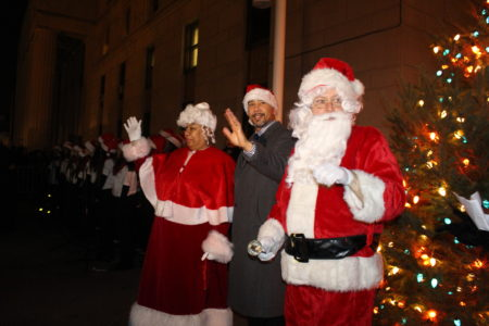 BP Diaz Hosts Annual Bronx Christmas Tree Lighting