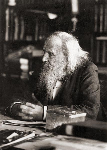 Dmitri Mendeleev in 1897.