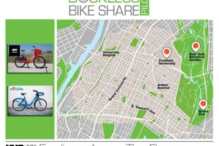Mayor De Blasio Welcomes Dockless Bicycles To Bronx