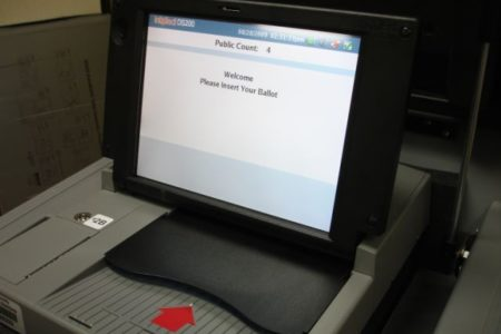 Bronxites Learn To Use Controversial New Voting Machines