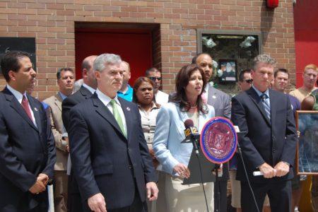 Rally Against Bronx Firehouse Closings