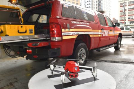 FDNY Deploys Drone To Help Fight Bronx Fire