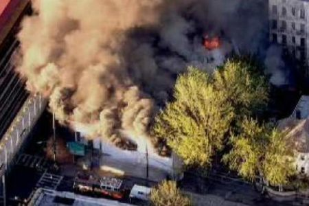 Bronx 5-Alarm Fire
