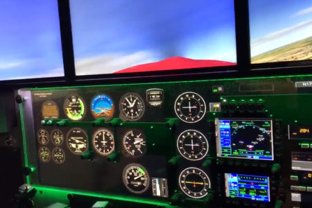 Bronx Aerospace High School Gets New Professional Flight Simulator