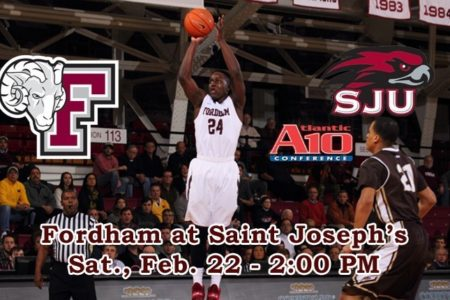 Fordham Basketball Travels To St. Joseph's
