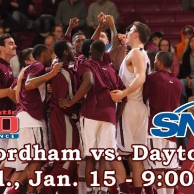 Fordham Basketball Hosts Dayton