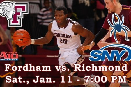 Fordham Basketball Hosts Richmond