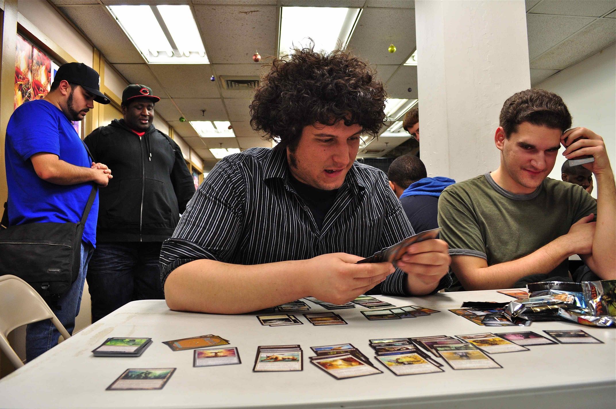 Dan Foster, 25,  contemplates his next move.