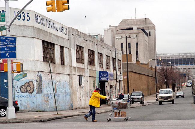 Bronx Terminal Market in 2004.