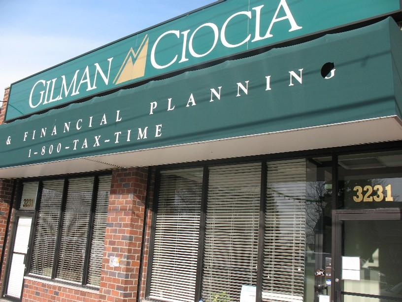 Gilman Ciocia office at 3231 E. Tremont Ave.