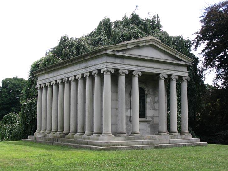 Gould mausoleum.