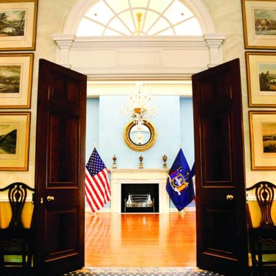 Mayor de Blasio & First Lady McCray's Gracie Mansion Holiday Open House