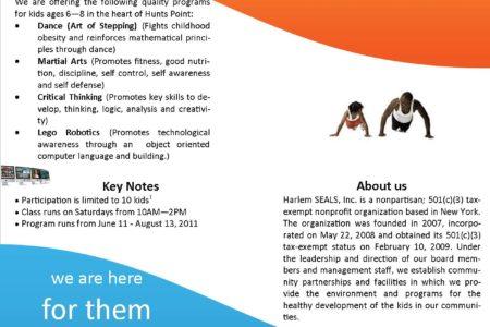 Harlem SEALS' Bronx Summer Program