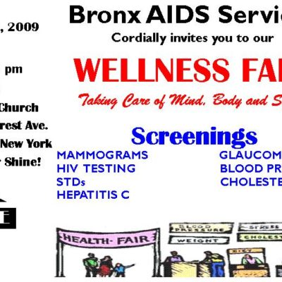 Free Bronx Health Fair Welcomes All