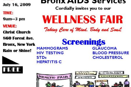 Free Bronx Health Fair Welcomes All
