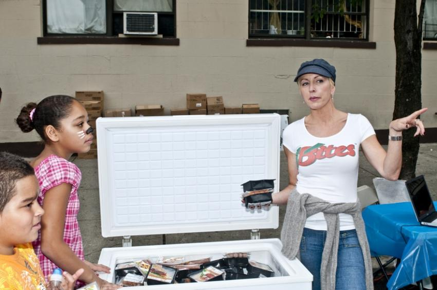 Heather Mills in the Bronx, photo by wenn.com.