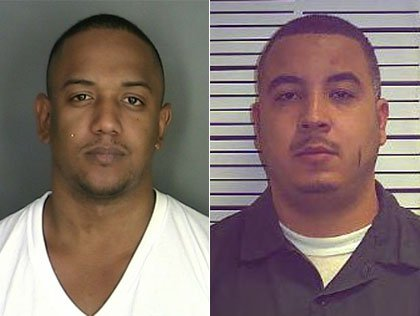 The victims: Heriberto Suazo (L) & Amaury Rodriguez (R)